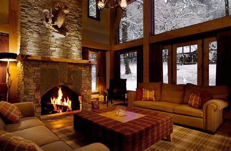 The Warmth of Home in the Winter   Fireplace Products