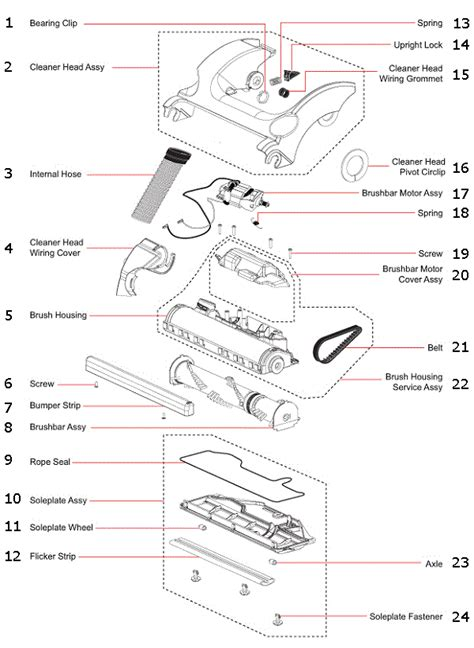 assemble   dyson dc animal vacuum cleaner
