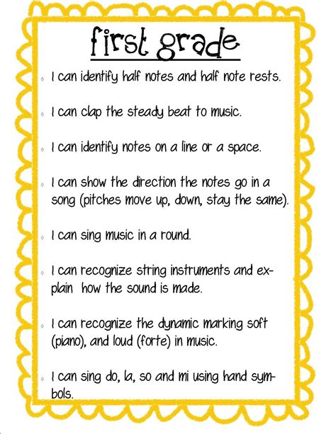 So La Mi Music Kindergartenfirst Grade
