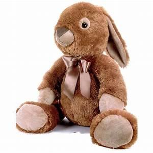 Grosse Peluche Pour Bébé : une grosse peluche lapin de 75 cm de couleur marron de la marque plush and company pour des ~ Teatrodelosmanantiales.com Idées de Décoration