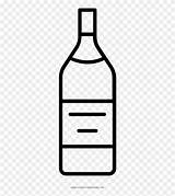 Clipart Liquor Bottle Glass Coloring Pinclipart sketch template
