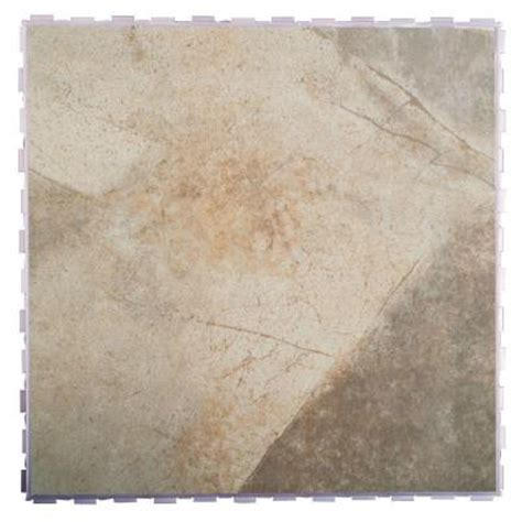 Snapstone Tile Home Depot by Snapstone Bedrock 18 In X 18 In Porcelain Floor Tile 9