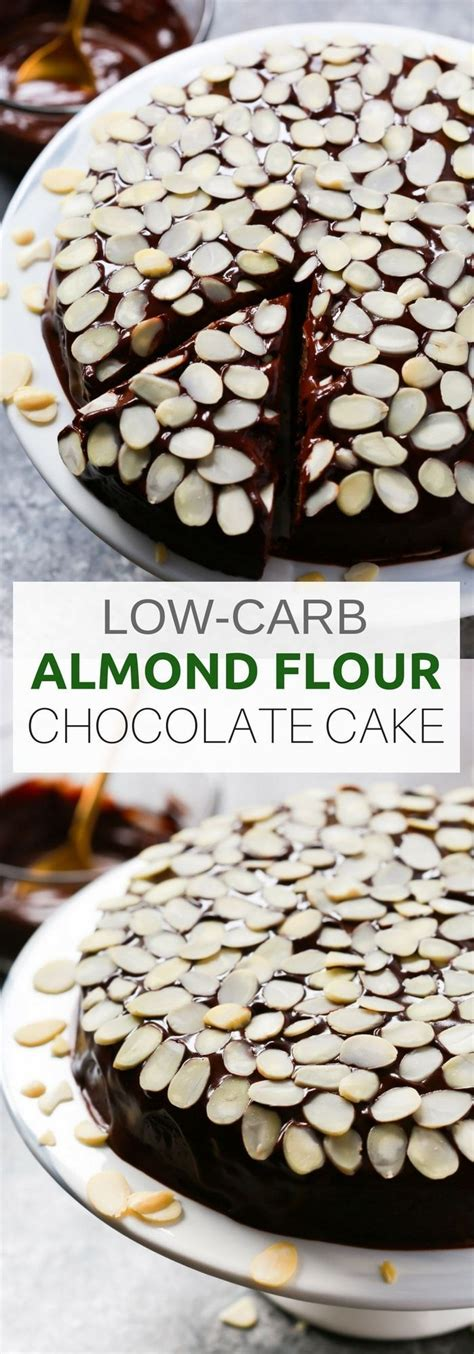 Take away from the oven and carefully add the yolk to the apex of each egg white. Healthier Low-carb Almond Flour Chocolate Cake for the ...