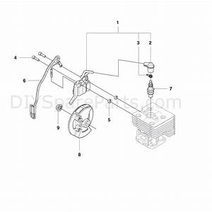 Husqvarna 130bt Backpack Blower  2008  Parts Diagram  Page 8