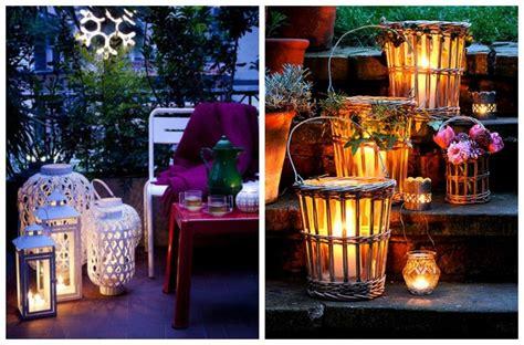 lanterne per candele da esterno lanterne da giardino esterno