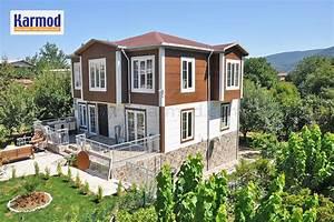 Maison Préfabriquée En Bois : maison en bois maroc maison en bois pr fabriqu e en usine ~ Premium-room.com Idées de Décoration