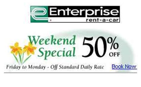 99302 Enterprise Canada Coupons by Canadian Deals Car Rental Weekend Specials Canadian