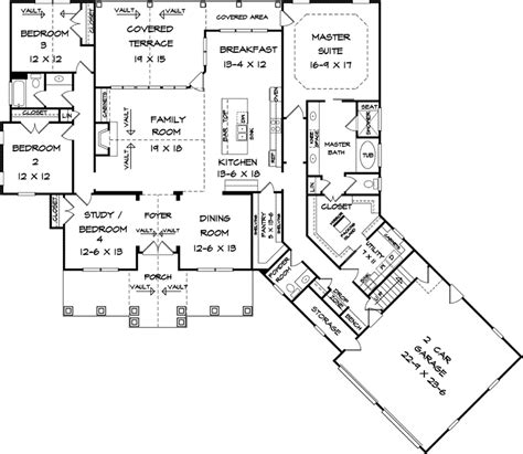 hampton mill craftsman home plan   house plans