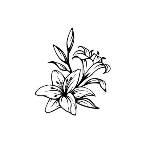fleur de lys dessin tatouage