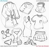 Coloring Clip Barbie Female Collage Printable Sheets Underwear Clipart Rf Ages Visekart Template sketch template