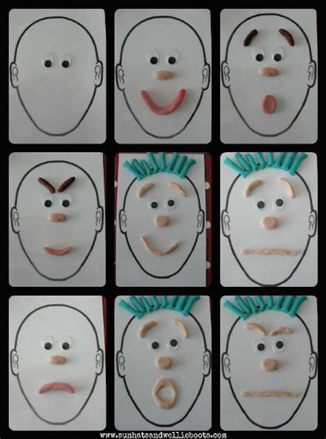 manualidades infantiles  aprender las emociones las