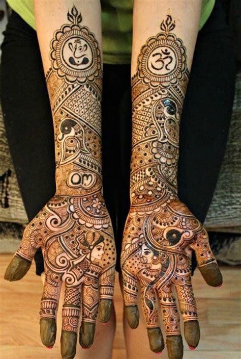 latest bridal henna mehndi designs art craft ideas