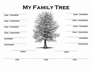 picture of family tree template - family tree templates word word excel samples