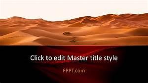 Free Desert Powerpoint Template