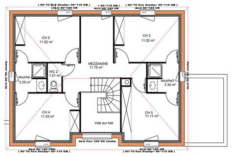 plan maison etage 4 chambres gratuit plan de maison avec etage gratuit ideas about plan maison