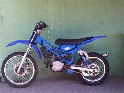Modif Motor by Gambar Modif Motor Bebek Trail