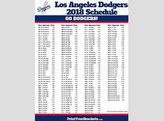 Dodgers Calendar newcalendar