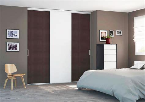 porte de chambre design porte de placard coulissante sur mesure pas chère