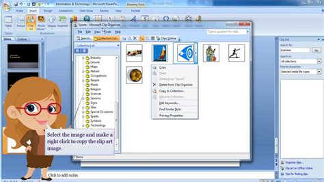 microsoft powerpoint clipart ms powerpoint 2007 inserting clip