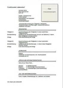 german style resume sle german cv template lebenslauf joblers