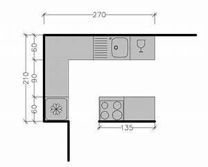 plan cuisine avec ilot cuisine en image With plan de cuisine avec ilot