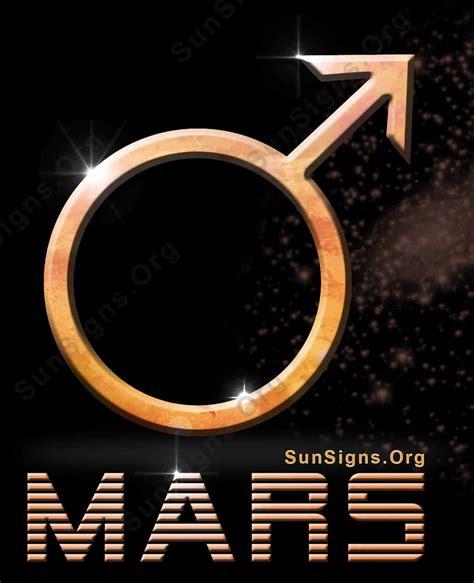 Planet Mars Symbol