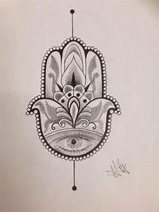 Hamsa / Hand of Fatima by Inkz420 on DeviantArt
