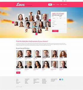 dating responsive website template 50992 With dating site about me template