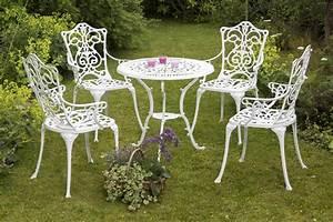 Gartenmöbel Set 5 Teilig Aluminium : gartenset bistroset lugano 5 teilig aluguss alu wei ebay ~ Bigdaddyawards.com Haus und Dekorationen
