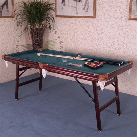 small pool table size inch folding american pool table biilard table family