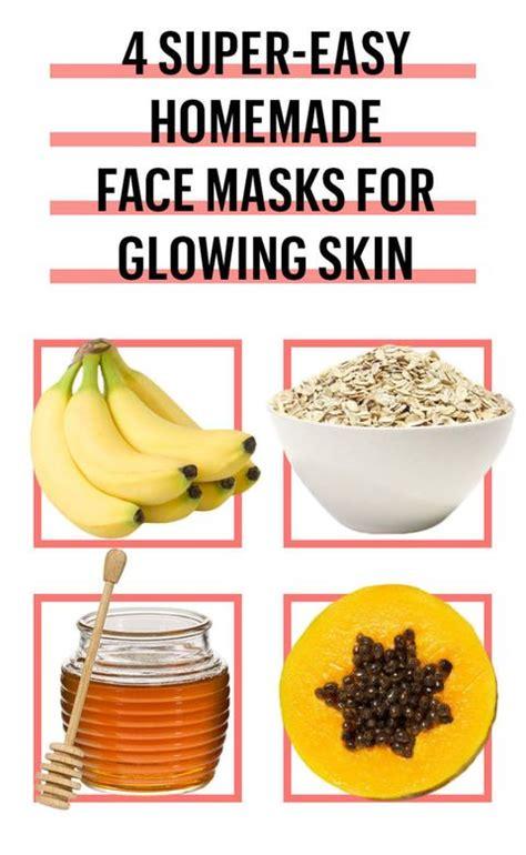 easy diy face mask recipes  homemade face masks