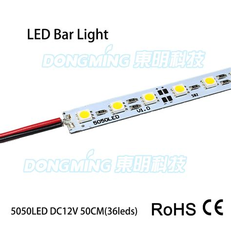 20pcs lot 36leds led rigid 0 5m 5050 smd ip22 12v