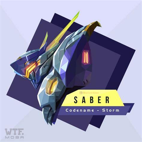 anime saber mobile legend