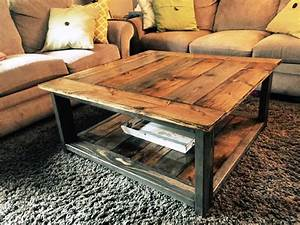 how to make rustic wood coffee table hot home decor With how to make a rustic coffee table