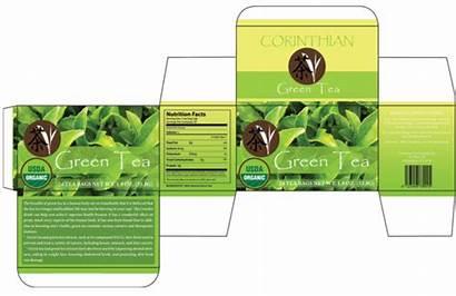 Tea Box Packaging Template Package Templates Bag