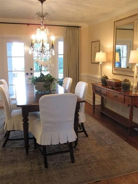 dining room chair slipcovers slipcovers slipcovers look