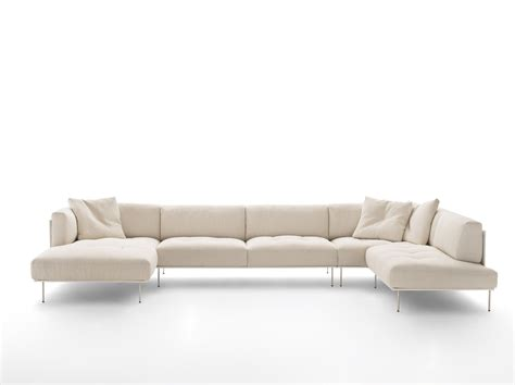 living divani sofa rod sectional sofa by living divani design piero lissoni