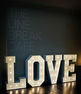 17 best the word is love images on pinterest wedding With marquee love letters