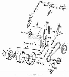 Simplicity 1600259 - 414s  14hp Shuttle Parts Diagram For Controls Group
