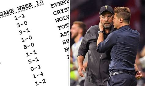 The televised fixtures for april include every liverpool, chelsea and arsenal match. Premier League fixtures predicted: Liverpool vs Tottenham ...
