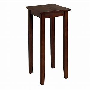 Cost, Plus, World, Market, Tall, Mahogany, Chloe, Accent, Table, Brown