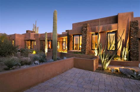 Southwestern Style Homes by 22 Earth Toned Southwestern Houses Inclined To Nature