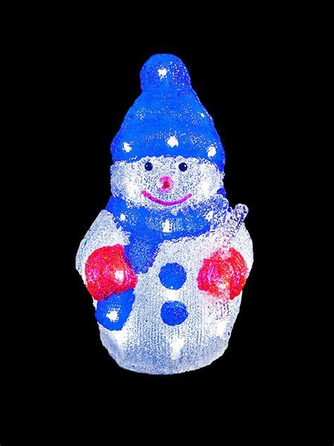 outdoor light up santa light up acrylic santa snowman reindeer christmas outdoor