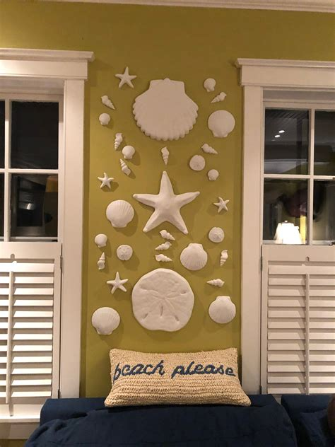 I ran across an oversized sand dollar in the april 2011 pottery barn catalog with a $99.00 price tag. Sand dollar wall hanging sculpture, sea shell beach decor, nautical art, large sand dollar