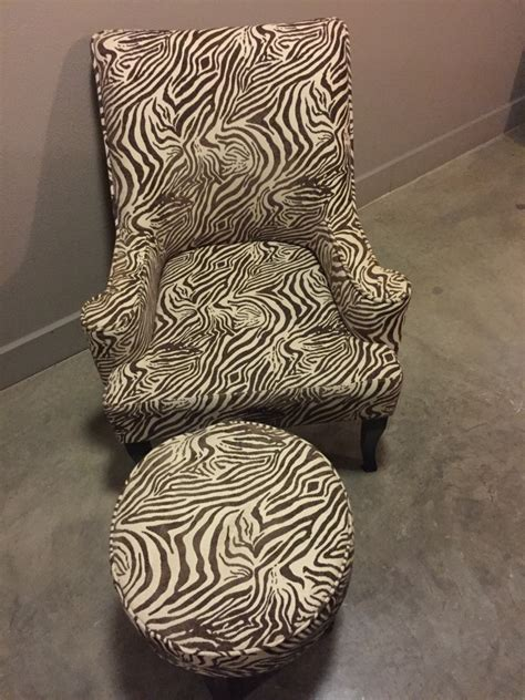 letgo brown and beige zebra print accent in dallas tx