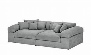 Big Sofa Grau : smart big sofa grau flachgewebe lianea silbergrau ~ Buech-reservation.com Haus und Dekorationen