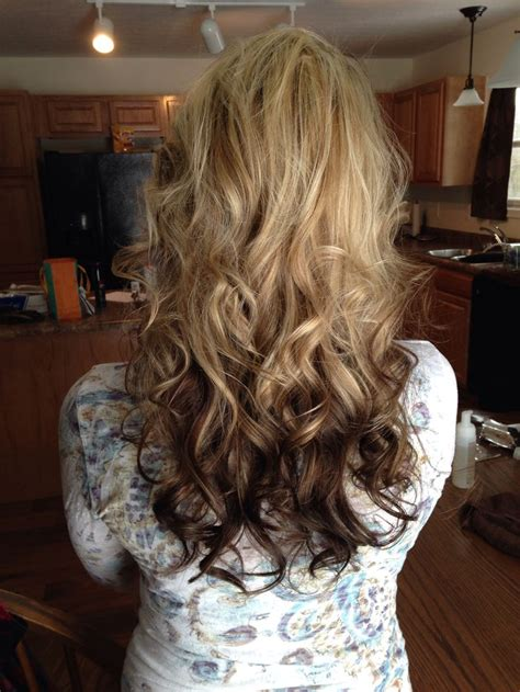 Black Hair With Brown Tips by With Brown Tips Ombr 233 Hair Tips