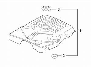 Cadillac Srx Engine Cover  3 6 Liter