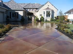 Acid Stain Concrete Sealer Picture