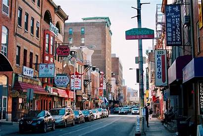 Philadelphia Chinatown Early Morning 2000 Oc